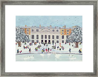 Hampton Court Palace   Fountain Gardens Framed Print