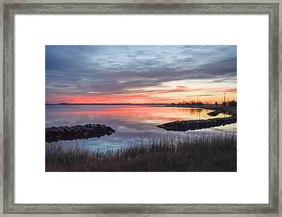Hampton Sunrise Framed Print