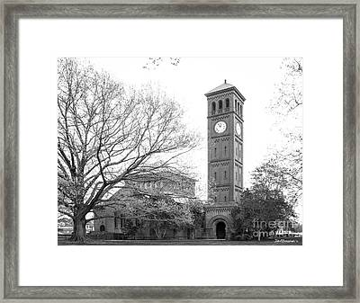 Hampton University Memorial Church Framed Print by University Icons