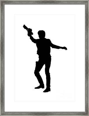 Han Solo Star Wars Tee Framed Print