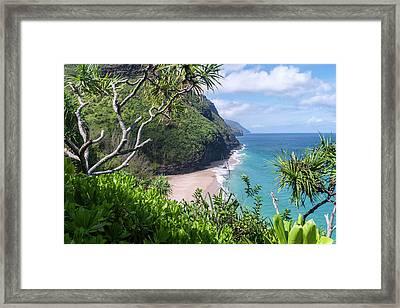 Hanakapiai Beach Framed Print by Brian Harig