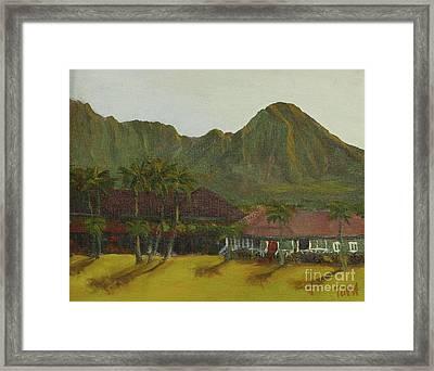 Hanalei Framed Print
