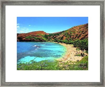 Hanauma Bay Nature Preserve Framed Print