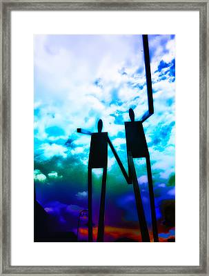 Hand In Hand Framed Print by Bill Cannon