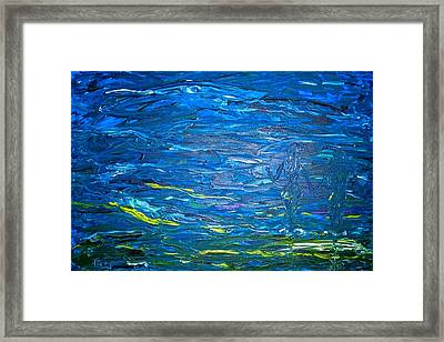 Hand In Hand Framed Print by Piety Dsilva