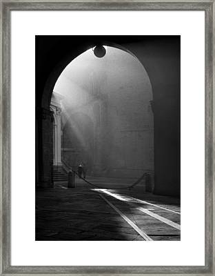 Hand In Hand Framed Print by Sergio Bondioni