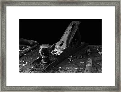 Framed Print featuring the photograph Hand Tools  by Richard Rizzo