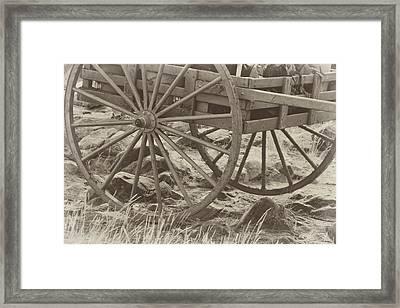 Handcart Framed Print