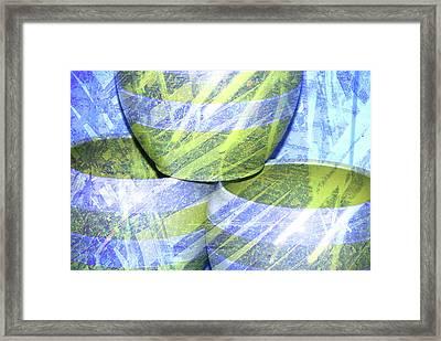 Handcrafted Framed Print by Susanne Van Hulst