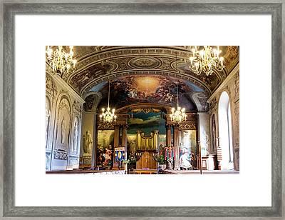 Handel's Organ Framed Print
