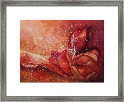 Handful Framed Print by Aneta  Berghane