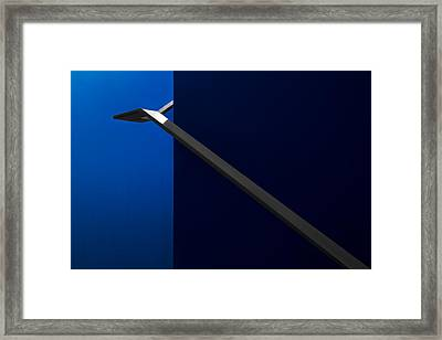 Handhold Framed Print by Gilbert Claes