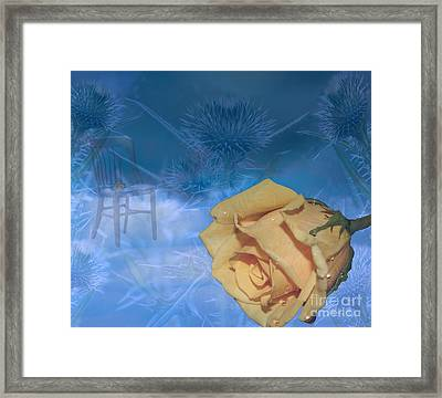 Handle With Care  Framed Print by Cathy  Beharriell