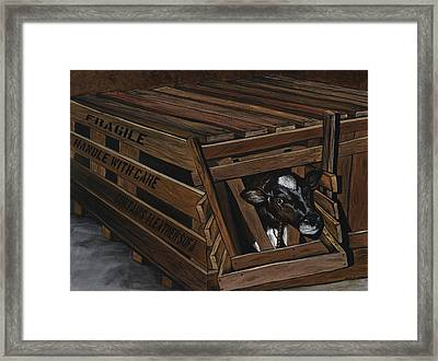 Handle With Care Framed Print by Twyla Francois