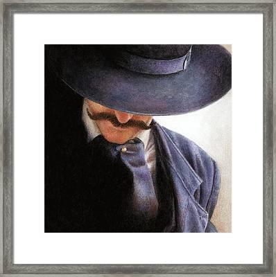 Handlebar Framed Print by Pat Erickson