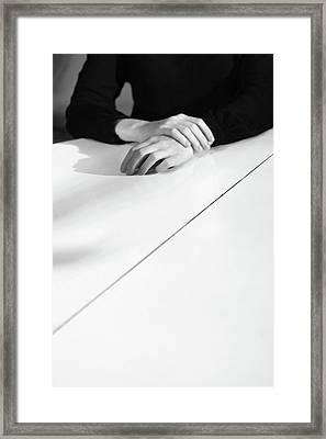 Hands #3110 Framed Print