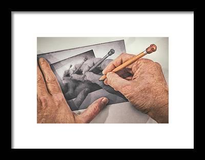 Conceptual Framed Prints