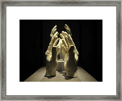 Hands Of Apollo Framed Print by David Lee Thompson