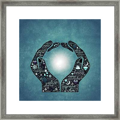 Hands Of Hope Framed Print by Cco