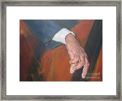Blaa Kattproduksjoner          Hands Of Deep Sound Framed Print