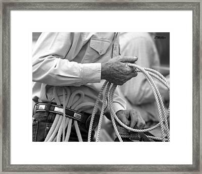 Hands Of Time.. Framed Print by Carol Miller