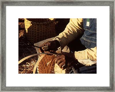 Hands Of Time Framed Print by Harvie Brown