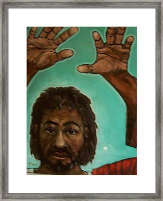 Hands That Heals Framed Print