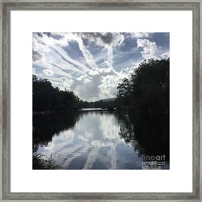 Handsome Cloud Framed Print
