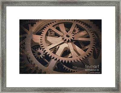 Handywork Framed Print by Sandra Gallegos