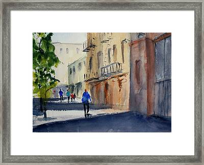 Hang Ah Alley Framed Print