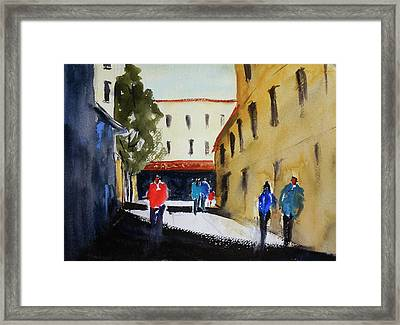 Hang Ah Alley2 Framed Print by Tom Simmons