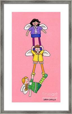 Hang In There Framed Print by Sarah Batalka