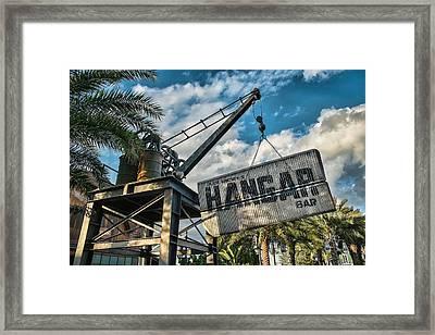 Hangar Bar Framed Print