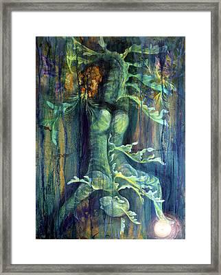 Hanged Man Framed Print