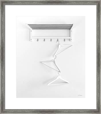 Framed Print featuring the photograph Hangers No. 2 by Joe Bonita