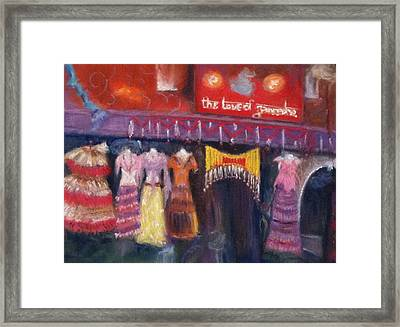 Hangin' In The Haight Framed Print