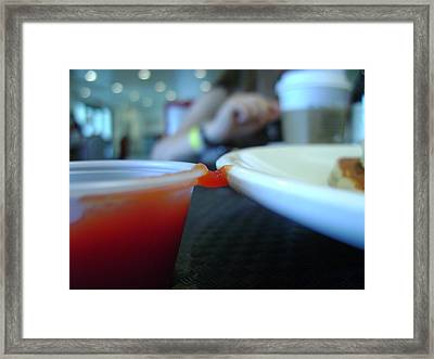 Hangin' On Framed Print by Jennifer Lynn Butler