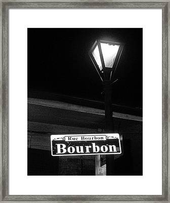 Hanging Around Framed Print