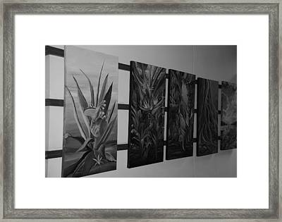 Framed Print featuring the photograph Hanging Art by Rob Hans