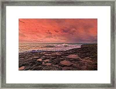 Hanging By A Moment Framed Print