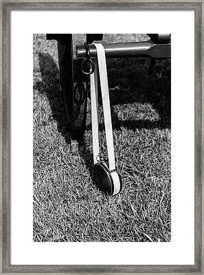 Hanging Canteen Framed Print