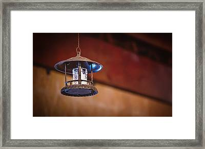 Hanging Lantern Framed Print by April Reppucci
