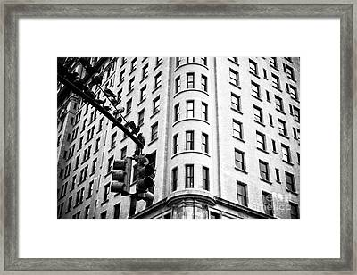 Hanging On Central Park South Framed Print by John Rizzuto