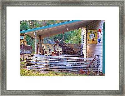 Hanging On To Yesterday Framed Print by Jan Amiss Photography