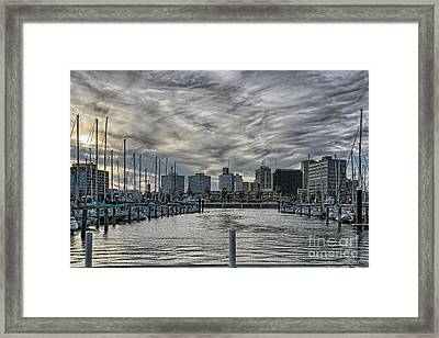 Hanging Out At The T-head Framed Print