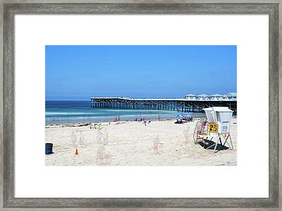 Hanging Out By Tower 25 Framed Print by Joseph S Giacalone