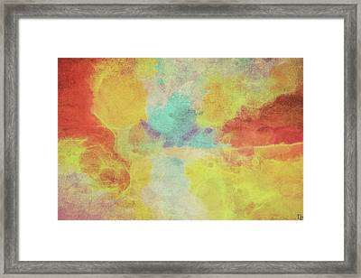 Hanging To Reds Framed Print