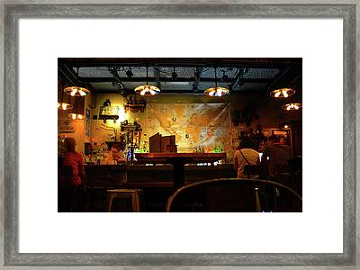 Framed Print featuring the photograph Hanging With Jock by David Lee Thompson