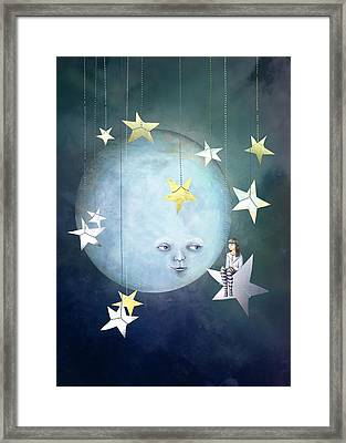 Hanging With The Stars Framed Print by Catherine Swenson