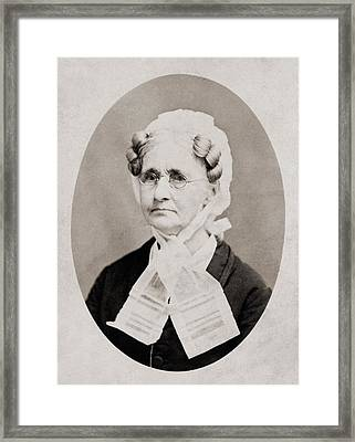 Hannah Simpson Grant 1798-1883, Mother Framed Print by Everett
